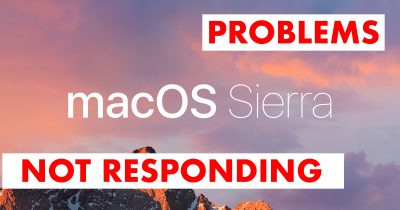 Fixing Mac OS Sierra Finder Not Responding Problems after upgrade
