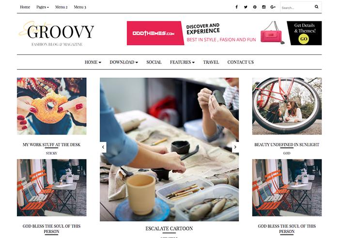Groovy Blogger Template Documentation