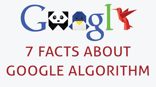 facts about google algorithm
