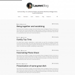 Lauren Blogger Template Documentation