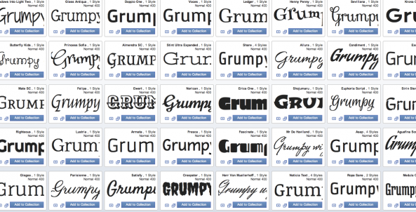 google fonts basic design terms