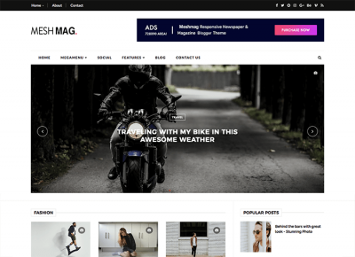 meshmag magazine blogger oddthemes
