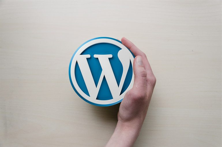 wordpress for your new website