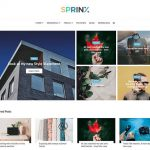 Sprinx Free Blogger Theme Documentation