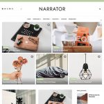Narrator Personal Blogger Template Documentation