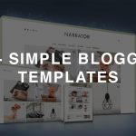 50+ Best Simple Blogger Templates 2019