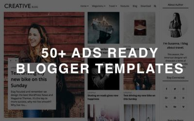ads ready blogger template