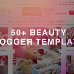 50+ Best Beauty Blogger Templates 2019