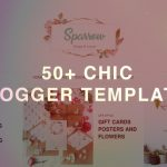 50+ Best Chic Blogger Templates 2019