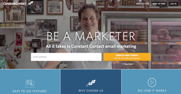 constant contact email marketing company