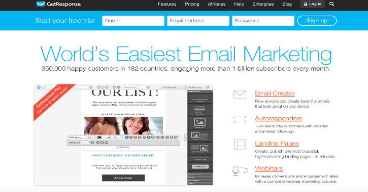 GetResponse email marketing company