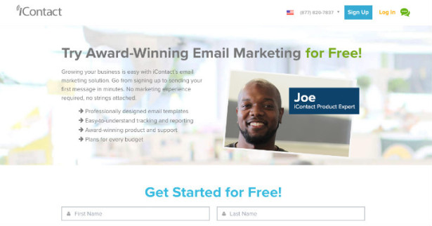 icontact email marketing company